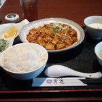34454080 - 麻辣豆腐定食