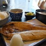 定食あさひ - 料理写真:ホッケ定食