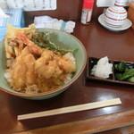 天丼の岩松 - 天丼530円