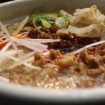 めだかタンタン - 汁あり坦々麺拡大