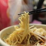 めだかタンタン - 坦々麺の麺