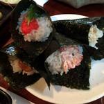 京やさいしゃぶしゃぶ - 手巻寿司 こちらも食べ放題