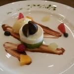 ル・トリアノン - 抹茶とホワイトチョコレートのムース