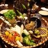 土龍 mogura - 料理写真:名物「契約農家直送野菜のバーニャカウダ」