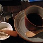 かえもん - オーガニックコーヒーwithキビ糖&豆乳