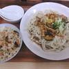 やまもと - 料理写真:ピリ辛うどん&さざえご飯