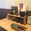 しゃぶしゃぶどん亭 - 内観写真:テーブルの備品