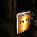 sync - BARの佇まい