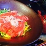 ちゃかぽん - 料理写真:二代目赤鬼うどん 彦根藩主二代目井伊直孝公をイメージしたらしい。