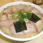 岡本中華 - 肉入り(小)辛口スープ