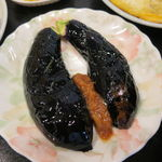 香林坊 - 精進カツ定食:精進カツ、切り干し卵焼き、味噌茄子、ご飯、えのきと茸のお吸い物3
