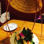 ベトナム料理コムゴン - 生春巻き、春巻き美味しい!