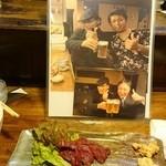 あけぼの三丁目 - 吉田類さんも食べた馬刺!