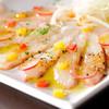 季節の鮮魚のカルパッチョ