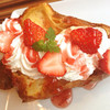 8カフェ - 料理写真:イチゴのポップオーバー