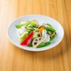 えびえびそば - 料理写真:海鮮と季節野菜の塩炒め