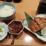 伊豆の旬 やんも - めぬけ味噌付け焼き定食