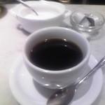 メゾン ド ハヅキ - ランチに付くドリンクにはホット珈琲をチョイス♪w