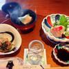 那古井館 - 料理写真:ランチ その1 お刺身&お椀&小鉢