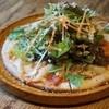 かえる食堂 蓮 - 料理写真:シーザーサラダピザ