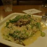 Risotteria.GAKU bis - 自家製三元豚パンチェッタと旬野菜リゾット(ブロードベース