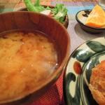 34576983 - 鶏の唐揚げネギソースがけ定食
