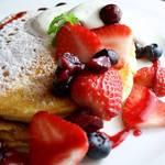 イチリン カフェ - ICHIRIN「らしさ」のパンケーキ