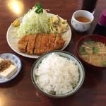 つかさ - ロースかつ定食(A)201412