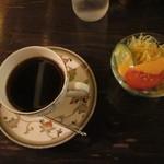 銀座北欧 - コーヒーとランチのサラダ