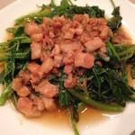 台湾麺線 - 魯肉空心菜