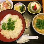 あん - 京湯葉丼 ¥900-
