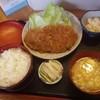 お食事の店 いそしぎ - 料理写真:いそしぎ特製焼肉定食!とんかつじゃないよ