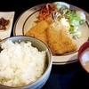 白鶴 - 料理写真:アジフライ定食600円