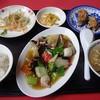 紅夢 - 料理写真:八宝菜定食