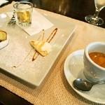 チェーロ - パスタランチ(デザートの盛り合わせ&エスプレッソ)