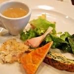 チェーロ - パスタランチ(前菜の盛り合わせ)