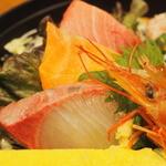 とびっちょ - 1750えん『とびっちょ丼』2015.1