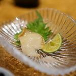 鮨 銀座 鰤門 - 螺貝