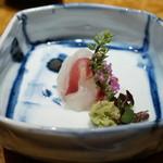 鮨 銀座 鰤門 - 鯛