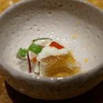 鮨 銀座 鰤門 - 花鯛の昆布〆