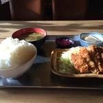 ぱっぱ屋 - 料理写真:これが、今回いただいた朝ごはんセット、税込み500円ですよ♪