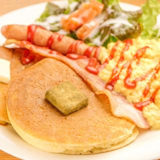 ランチ/お食事パンケーキ