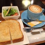 コージーコーヒー - 此方のモーニングで500円♡