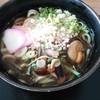 ふもとや - 料理写真:山菜うどん700円