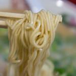 花京 - こってり背脂中華そばを細麺で