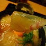 りんすけ - 新鮮な鯛の刺身がタップリ♪