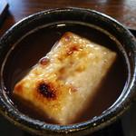 大蔵餅 - ぜんざい  選べるお餅は玄米で (2015.01現在)