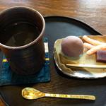 大蔵餅 - 柚子茶と大蔵餅