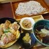 竈めし 清次郎 - 料理写真:ヒレカツ丼いたそばセット