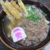 資さんうどん - 料理写真:肉&ゴボ天 640円